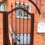 Puertas de hierro en el exterior