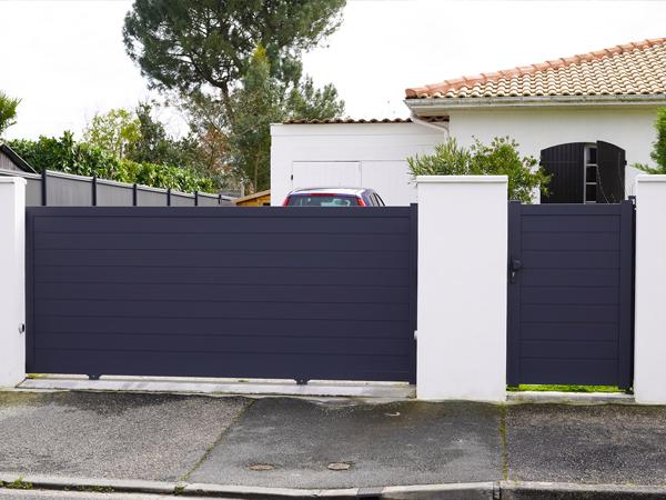Puertas metálicas de exterior en Fuenlabrada