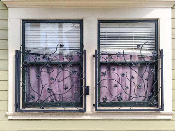 Rejas ventanas en Madrid