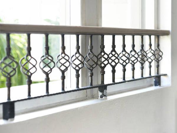 Rejas ventanas en Pinto